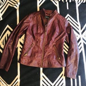 Guess faux- leather Jacket
